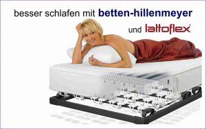 besser schlafen mit bh und lattoflex
